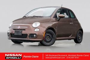 """2014 Fiat 500 Sport SPORT / LEATHER / 16"""" MAGS / A/C / BLUETOOTH"""