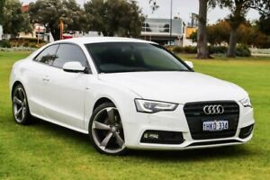 2016 Audi A5 8T MY16 Quattro White 6 Speed Manual Coupe Burswood Victoria Park Area Preview