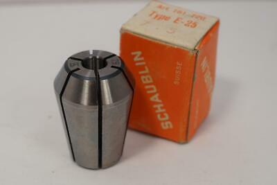 New Schaublin E-25 7.5mm Collet For Emco Maximat Mill Or Lathe. Swiss Made