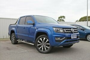 2017 Volkswagen Amarok 2H MY18 TDI550 4MOTION Perm Ultimate Blue 8 Speed Automatic Utility Rockingham Rockingham Area Preview