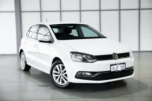 2016 Volkswagen Polo 6R MY16 81TSI DSG Comfortline White 7 Speed Sports Automatic Dual Clutch
