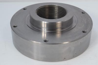 New Pratt Burnerd 6 Lathe Chuck Adapter Plate 2-14 X 8 Tpi For South Bend
