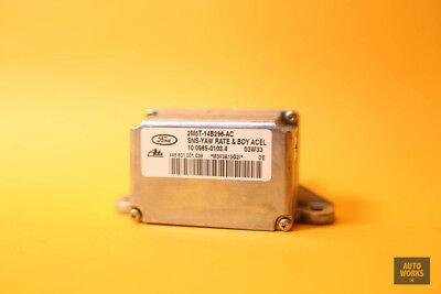 04-07 Jaguar XJR XJ8 Vanden Plas Turn Yaw Rate Sensor 2M5T14B296AC OEM