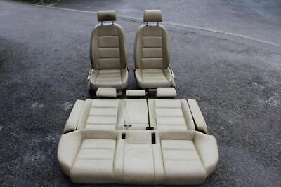 AUDI A6 C6 LEATHER SEATS CREAM