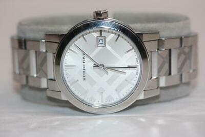 Women's Burberry Watch The City BU9144 Silver Dial Stainless Steel Swiss Quartz