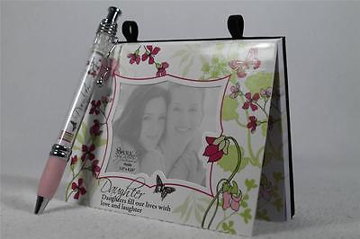 Daughter Magnetic Paper Note Pad Themed Banner Pen-personalize Great Gift New