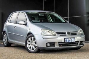 2004 Volkswagen Golf V Sportline Silver 6 Speed Manual Hatchback