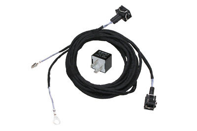Original Kufatec Cable Loom Fog Light +Relay for Vw Golf 3 III Polo 6N