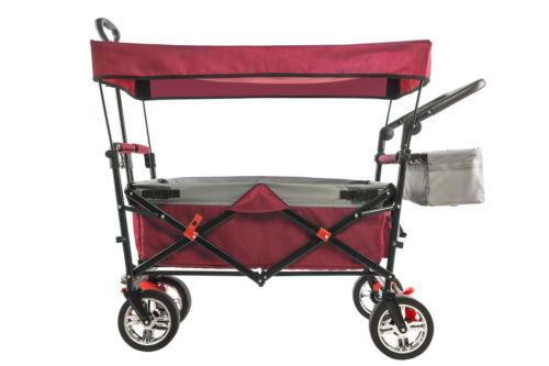 Folding Push/Pull Sport Wagon 2.0