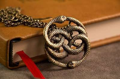 ebay auryn necklace pendant gold inspired by the neverending story mozeypictures Choice Image