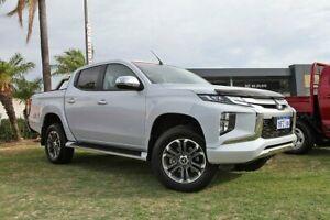 2019 Mitsubishi Triton MR MY20 GLS Double Cab White 6 Speed Sports Automatic Utility Wangara Wanneroo Area Preview