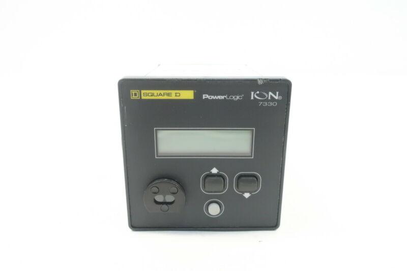 Square D ION7330 Powerlogic Power Panel Meter