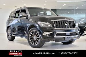 2017 Infiniti QX80 LIMITED EXTENDED WARRANTY INCLUDED!