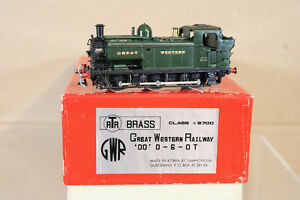 SAMHONGSA-RTR-BRASS-039-EM-ESCALA-KIT-MONTADO-GW-GWR-0-6-0-CLASS-9700-PANIER