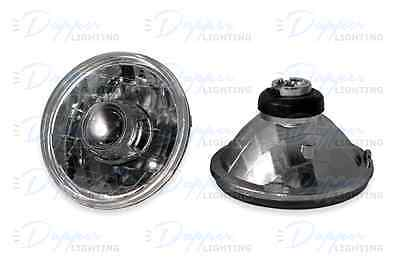 "JEEP WRANGLER 7"" REAL Projector Headlights w/ HID Kit 6000K & H13 to H4 Adapter"