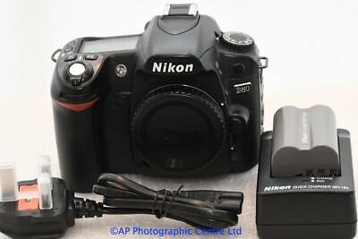 Nikon D80 DSLR Camera Body  GOOD CONDITION