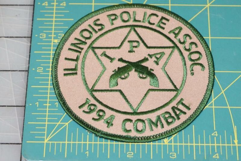 Illinois Police Assoc. 1994 Combat IPA Patch (10023)