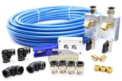 Rapid Air Garage Shop Compressed Air Line Kit Complete System 100 Ft. 12 New