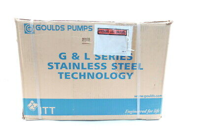 Goulds 1st4c1e4 Centrifugal Pump Gl Series 4.44in 12hp 220v-ac 50hz