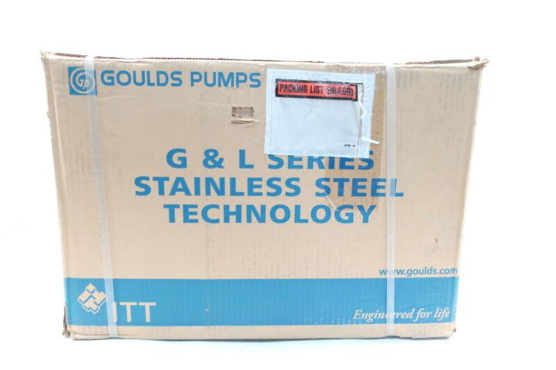 Goulds 1ST4C1E4 Centrifugal Pump G&l Series 4.44in 1/2hp 220v-ac