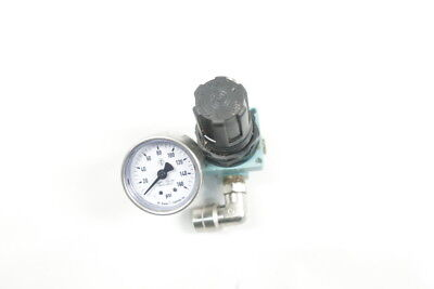 "REGULATOR 1//2/"" NPT 0-125 PSIG 644065 w// gauge WILKERSON PNEUMATIC R18-04-F0G0"
