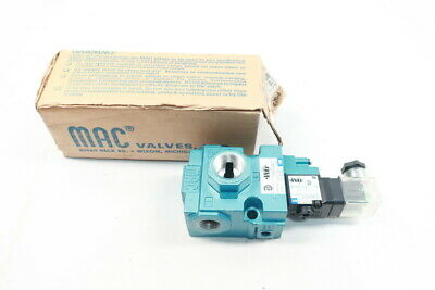 Mac 56c-33-610jc 3-way Solenoid Valve 24v-dc 12in Npt