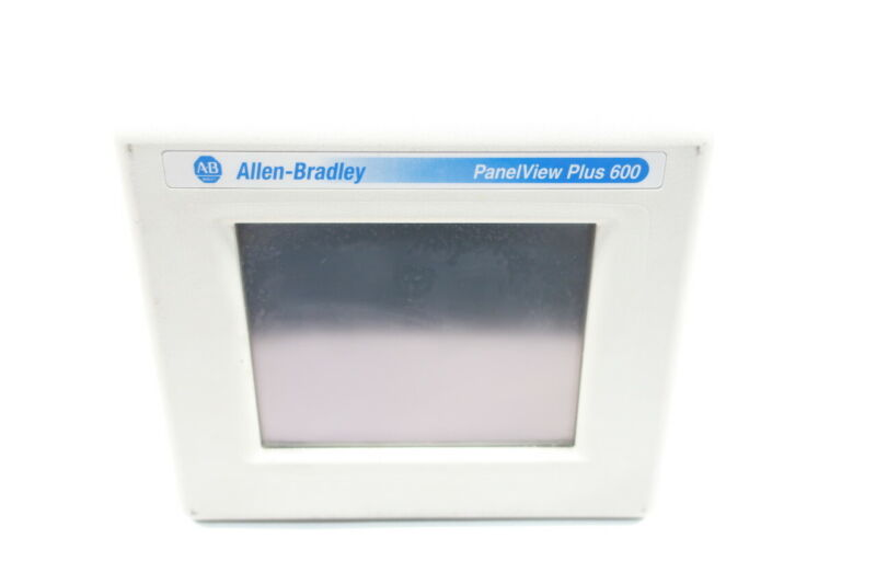 Allen Bradley 2711PC-T6C20D Panelview Plus Compact 600 Touch Screen Ser C