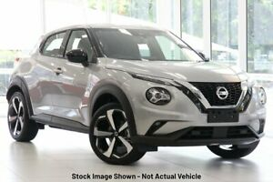 2020 Nissan Juke F16 ST-L DCT 2WD Silver 7 Speed Sports Automatic Dual Clutch Hatchback Hoppers Crossing Wyndham Area Preview