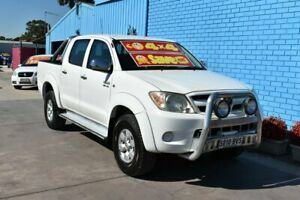 2005 Toyota Hilux GGN25R SR5 (4x4) White 5 Speed Manual Dual Cab Pick-up Enfield Port Adelaide Area Preview