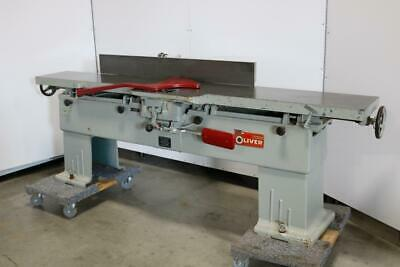 Oliver Machinery Co. 166-bd Jointer 12