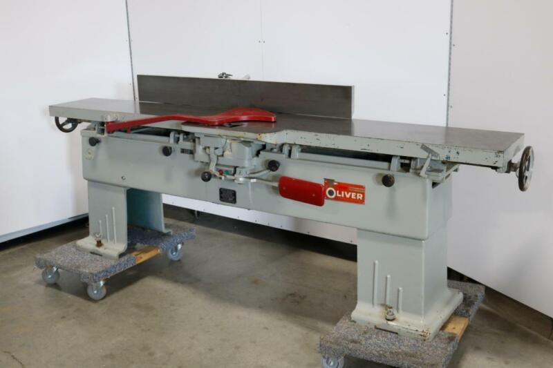 """Oliver Machinery Co. 166-BD Jointer, 12"""""""