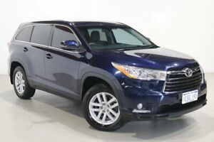 2015 Toyota Kluger GSU50R GX 2WD Blue 6 Speed Sports Automatic Wagon Northbridge Perth City Area Preview