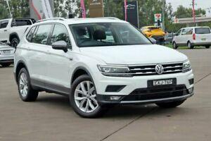 2018 Volkswagen Tiguan 5N MY18 132TSI DSG 4MOTION Comfortline White 7 Speed McGraths Hill Hawkesbury Area Preview