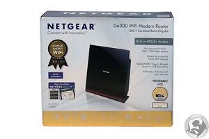 Netgear D6300 AC1600 Wireless Dual Band Modem Gigabit Router Australian Stock