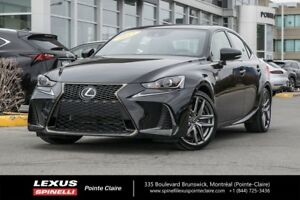 2017 Lexus IS 300 F-SPORT SERIE 2, AWD, NAVIGATION, BLUETOOTH WI