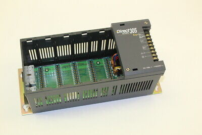 Plc Direct Logic 305 D3-05b-1 5 Slot Rack Chasis New