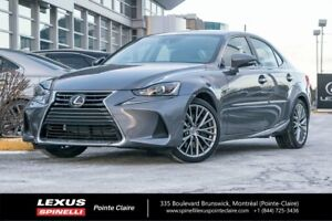 2018 Lexus IS 300 AWD LUXURY PACK, GPS, BACK UP CAMERA SPECIAL D