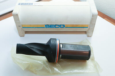 New Seco Sd50 1250-250-1500r Indexable Drill 1.250 1-14 Coolant Flow Thru