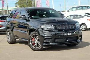 2017 Jeep Grand Cherokee WK MY18 SRT Black 8 Speed Sports Automatic Wagon McGraths Hill Hawkesbury Area Preview