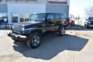 2017 Jeep Wrangler Unlimited Sahara 2017 WRANGLER - SHOWROOM...