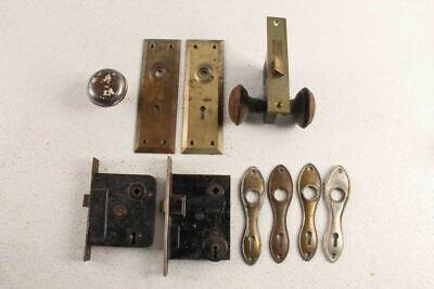Modern Cutting Edge Chrome Silver Mortice Interior Door Knobs Door Handles D7