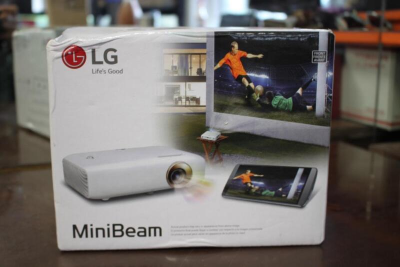 LG MiniBeam PH550 720p DLP Projector White PH550/US