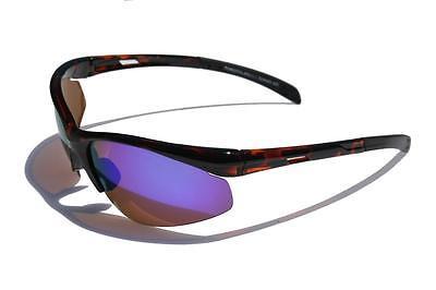 Ligero Carey Gafas de Sol Polarizadas Lente de Espejo Azul Ciclismo Pesca...