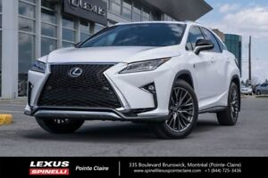 2018 Lexus RX 350 F-SPORT SÉRIE 2, AWD, NAVIGATION, CAMERA DE RE