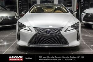 2018 Lexus LC 500h HYBRIDE RWD; GROUPE PERFORMANCE $3500 DEMO RE