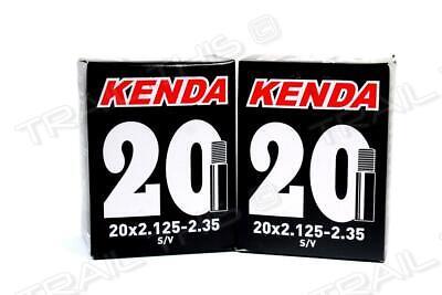 "6x Kenda 20/"" SCHRADER BMX Tube 20x1.75//2.125 S//V A//V 36mm Valve 6-pack discount"