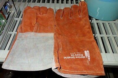 Welders Industrial Supply Co. Large Cowhide Migtig Welders Long Work Gloves