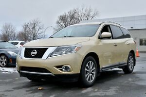 2013 Nissan Pathfinder *SL*AWD*CUIR*7 PASSAGERS*CAMERA*63000KM*