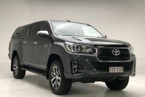 2017 Toyota Hilux GUN126R SR5 Double Cab Gunmetal 6 Speed Sports Automatic Utility