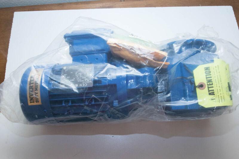 Chemineer Gear Drive Motor .25hp Agitator Process Mixer BT 155 RPM